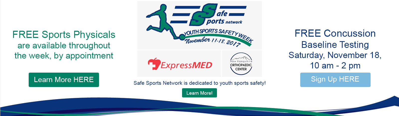 Safe Sports Network is dedicated to youth sports safety!